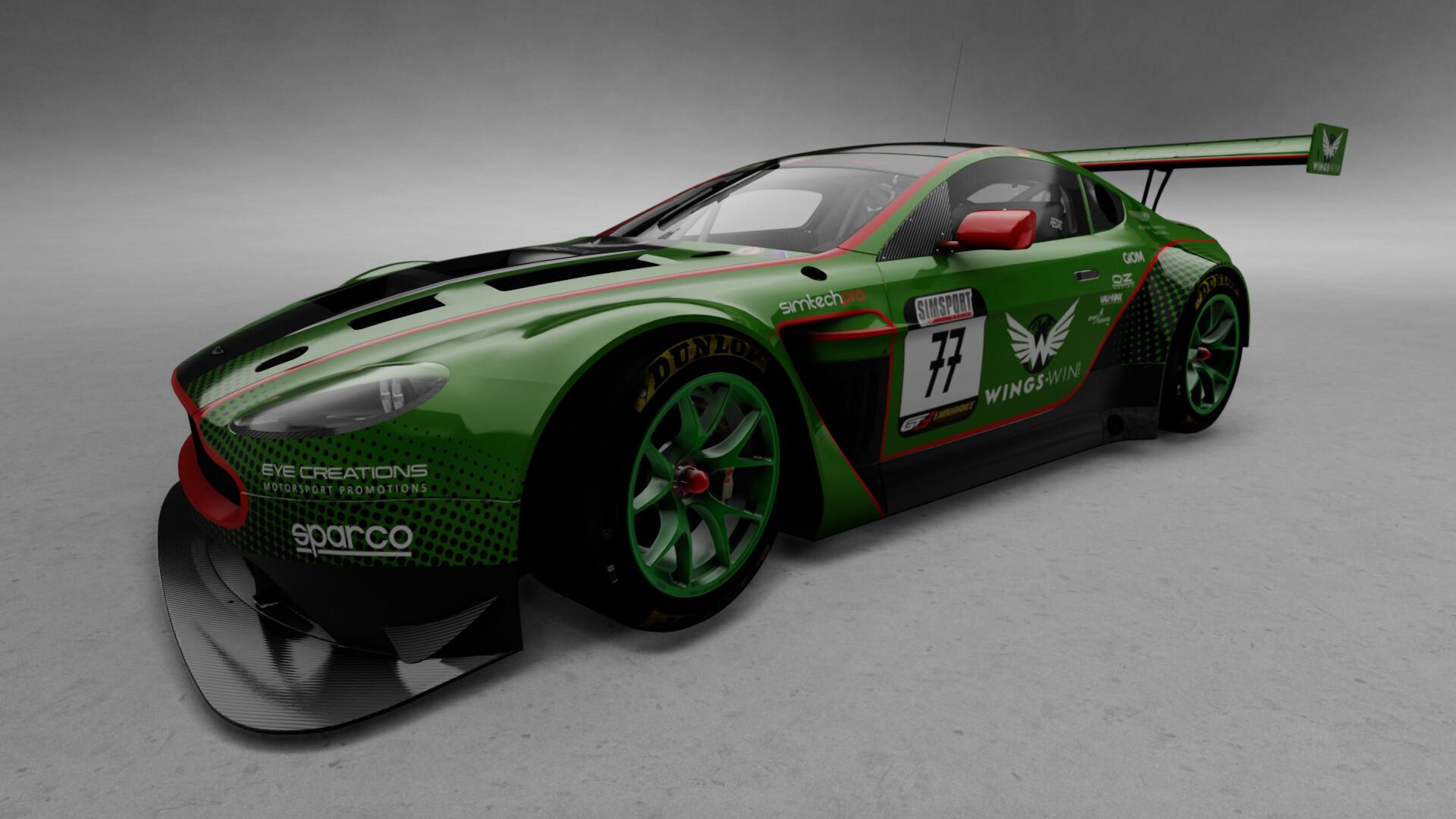 Artstation Aston Martin Vantage Gt3 Marcel Erner