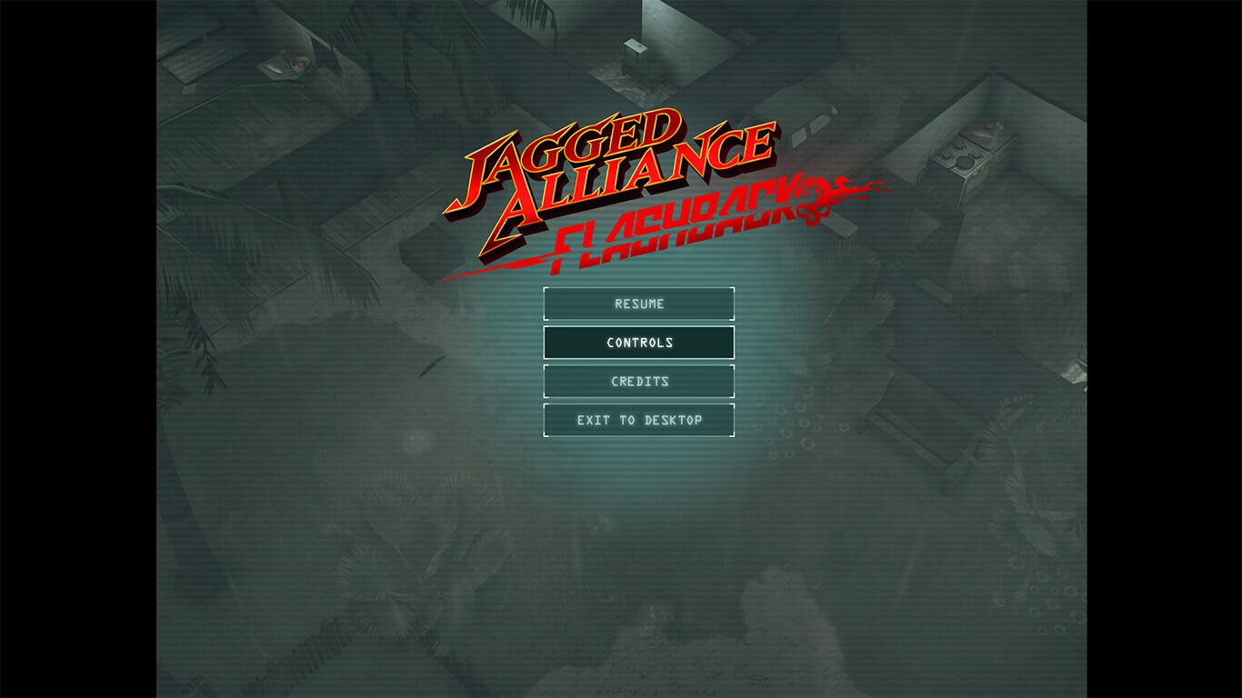 Game UI: Main menu