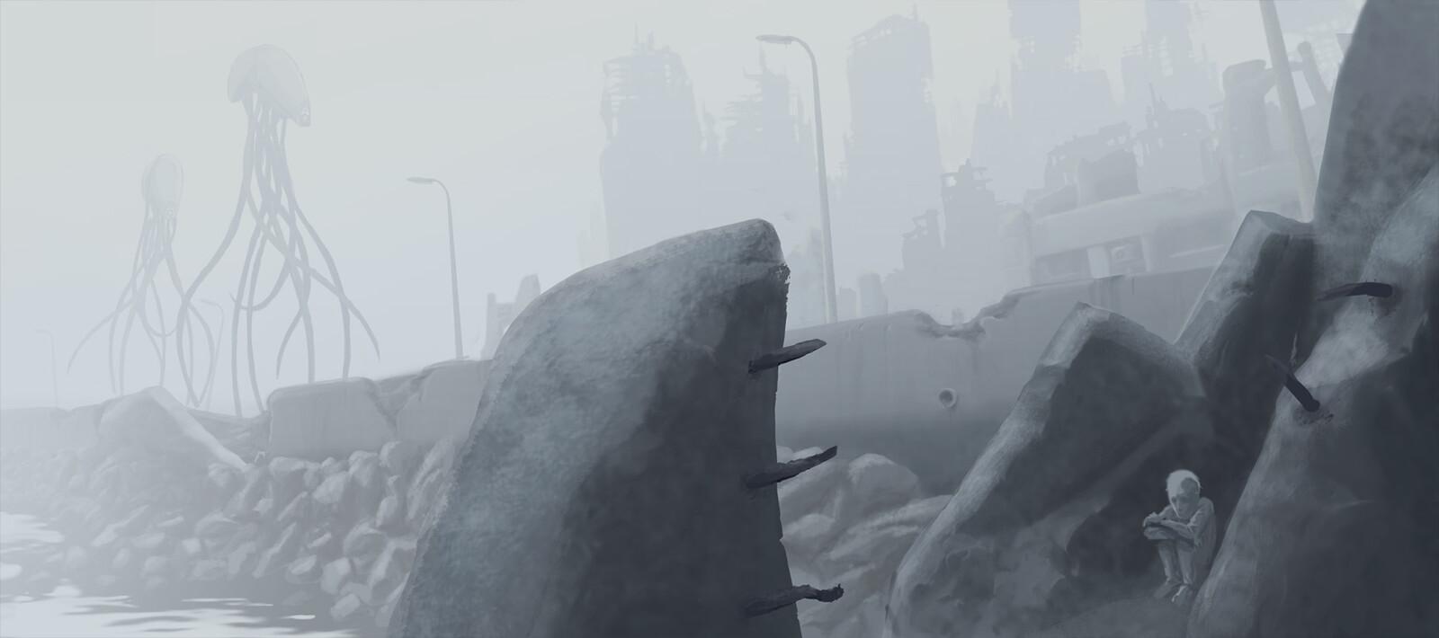 concept: environment dawn