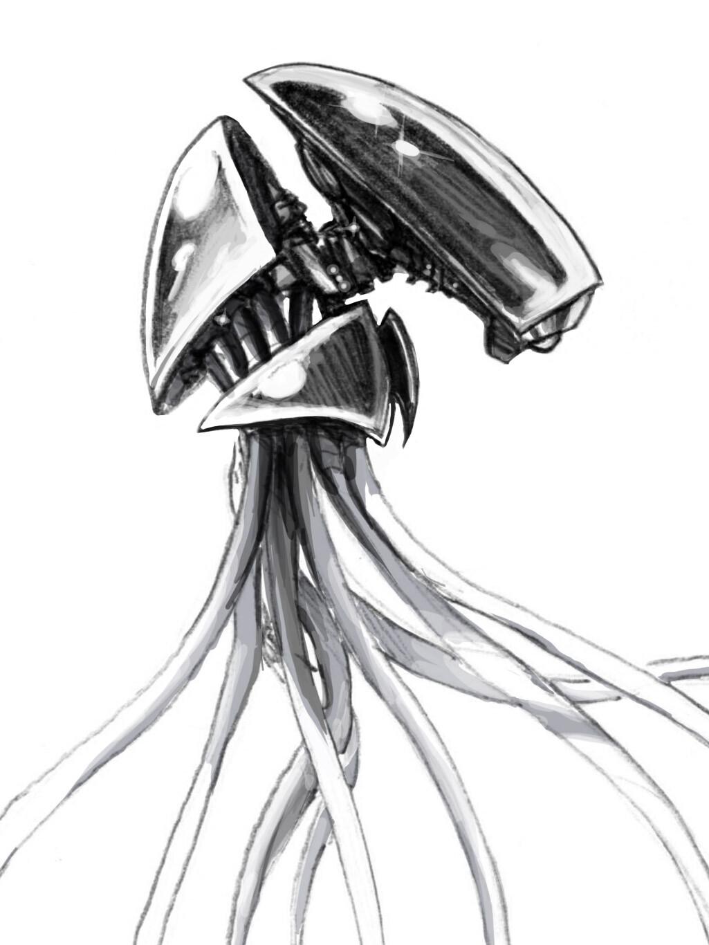 Tentacle Robots Concept