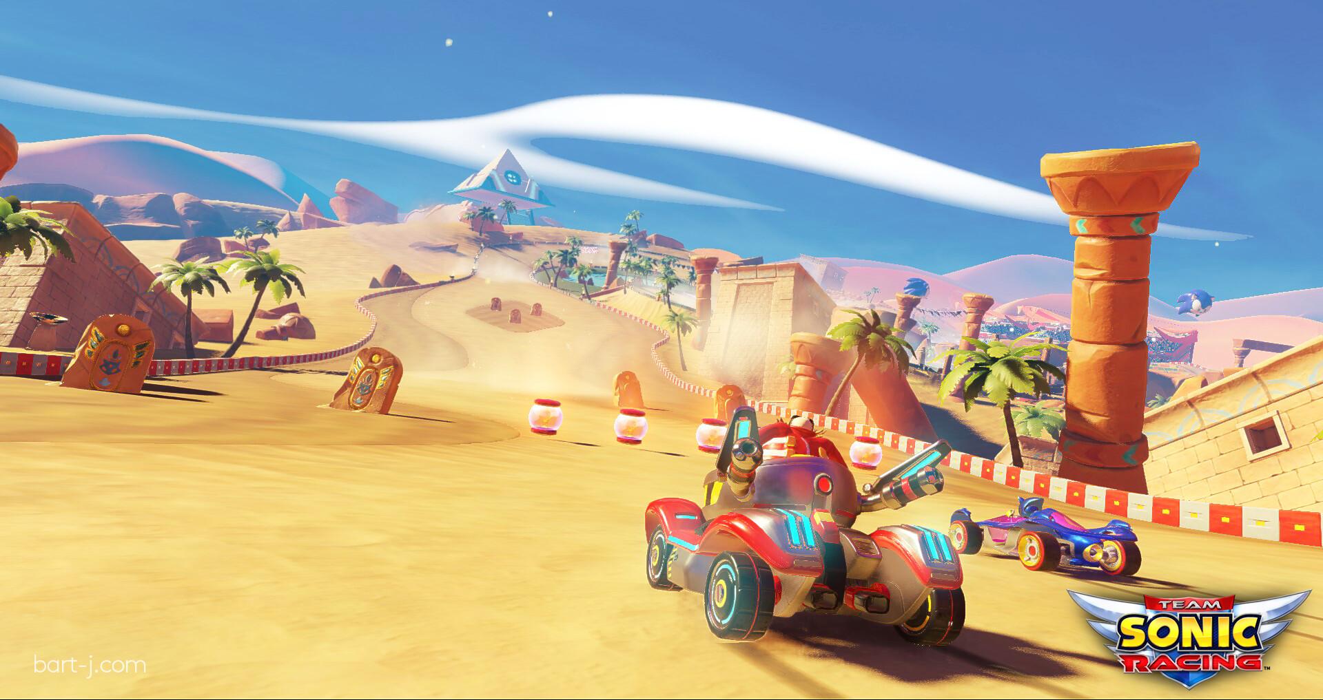 Bartosz Januszkiewicz Team Sonic Racing Sand Road