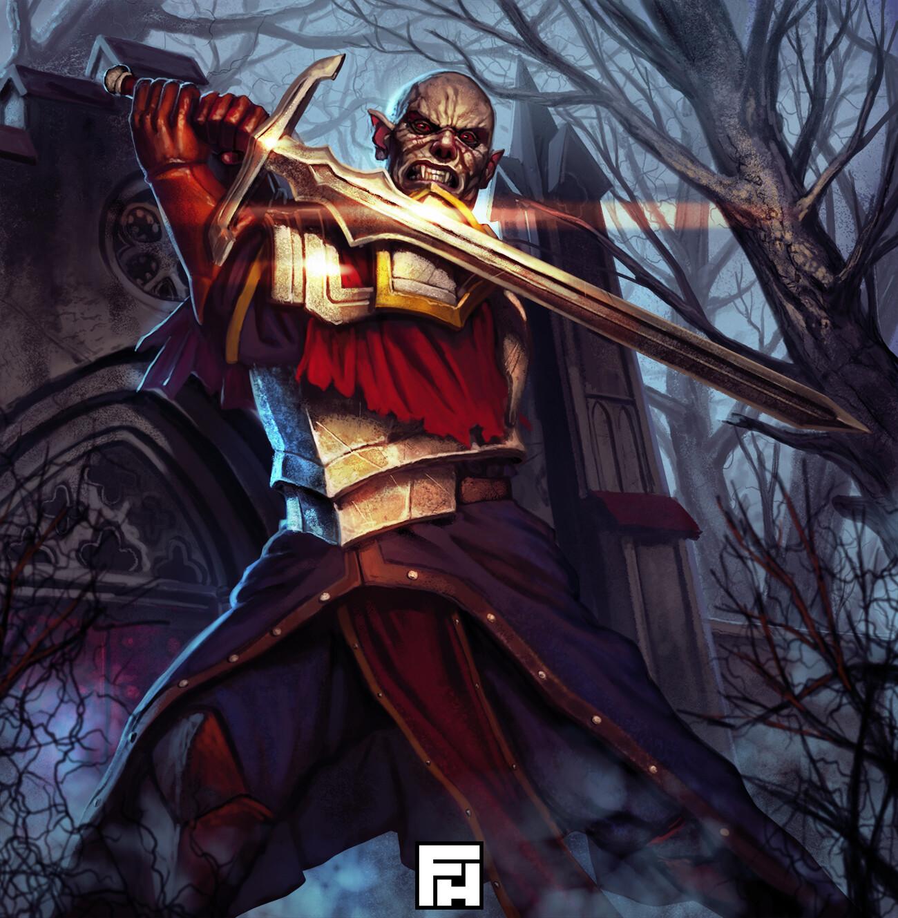 Fred hildebrand vampir kings will battle 2