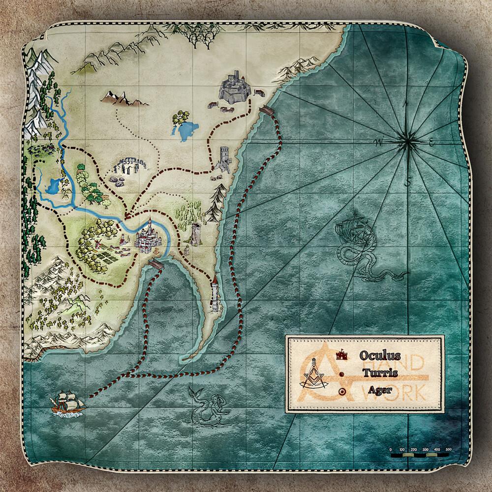 Anton golubov aghandwork map 1