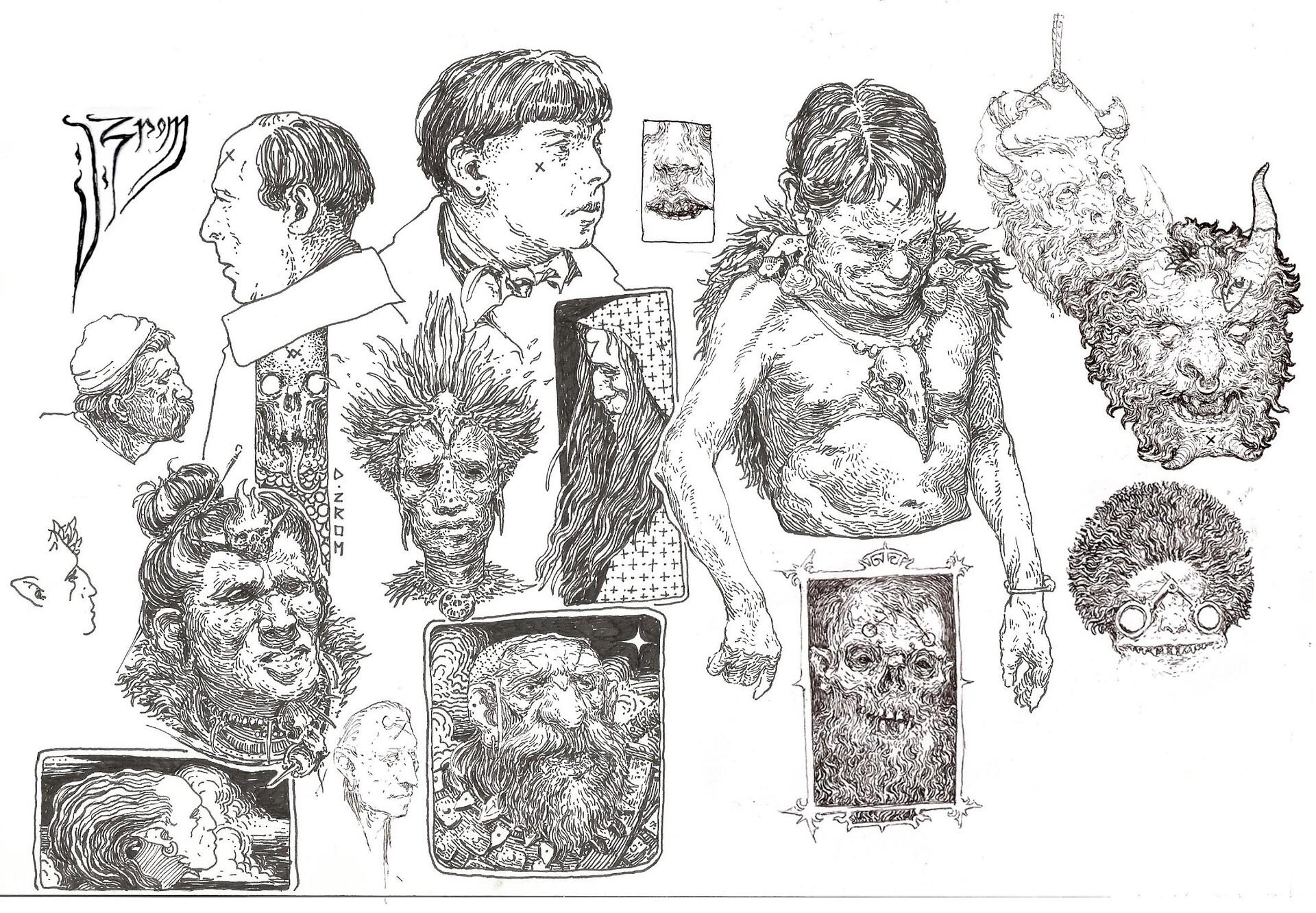 Daniel zrom danielzrom sketchbook1