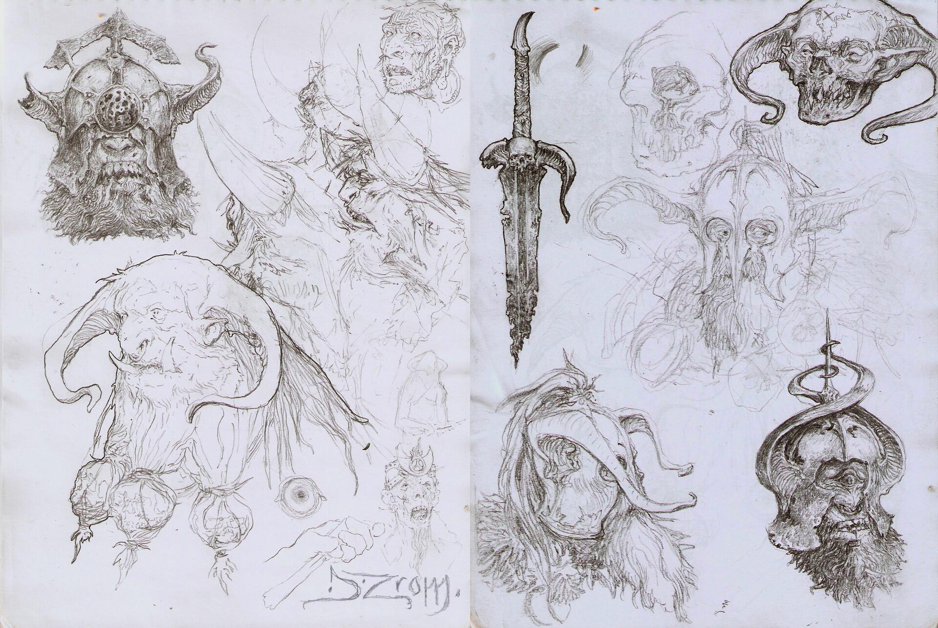 Daniel zrom danielzrom sketchbook7