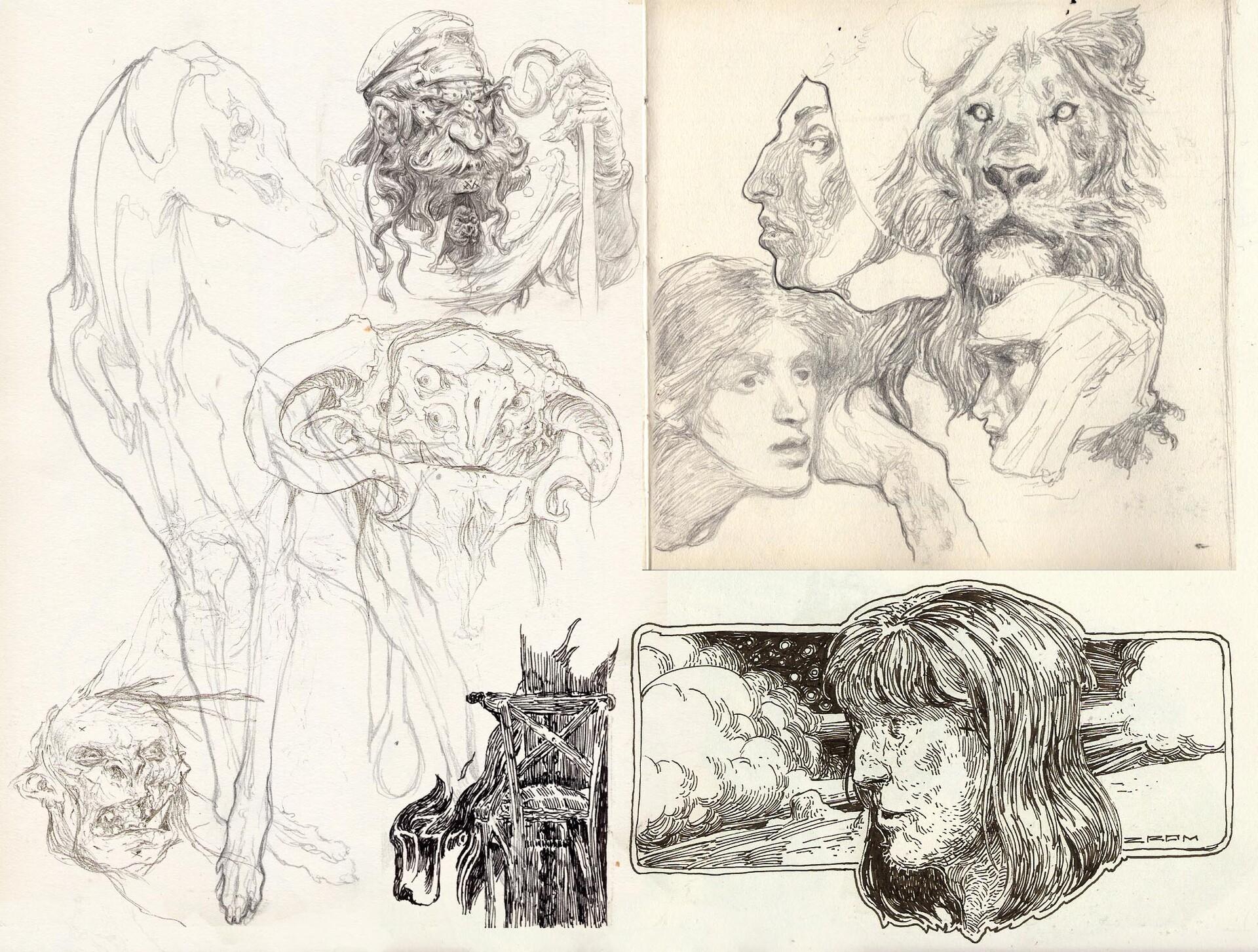 Daniel zrom danielzrom sketchbook14