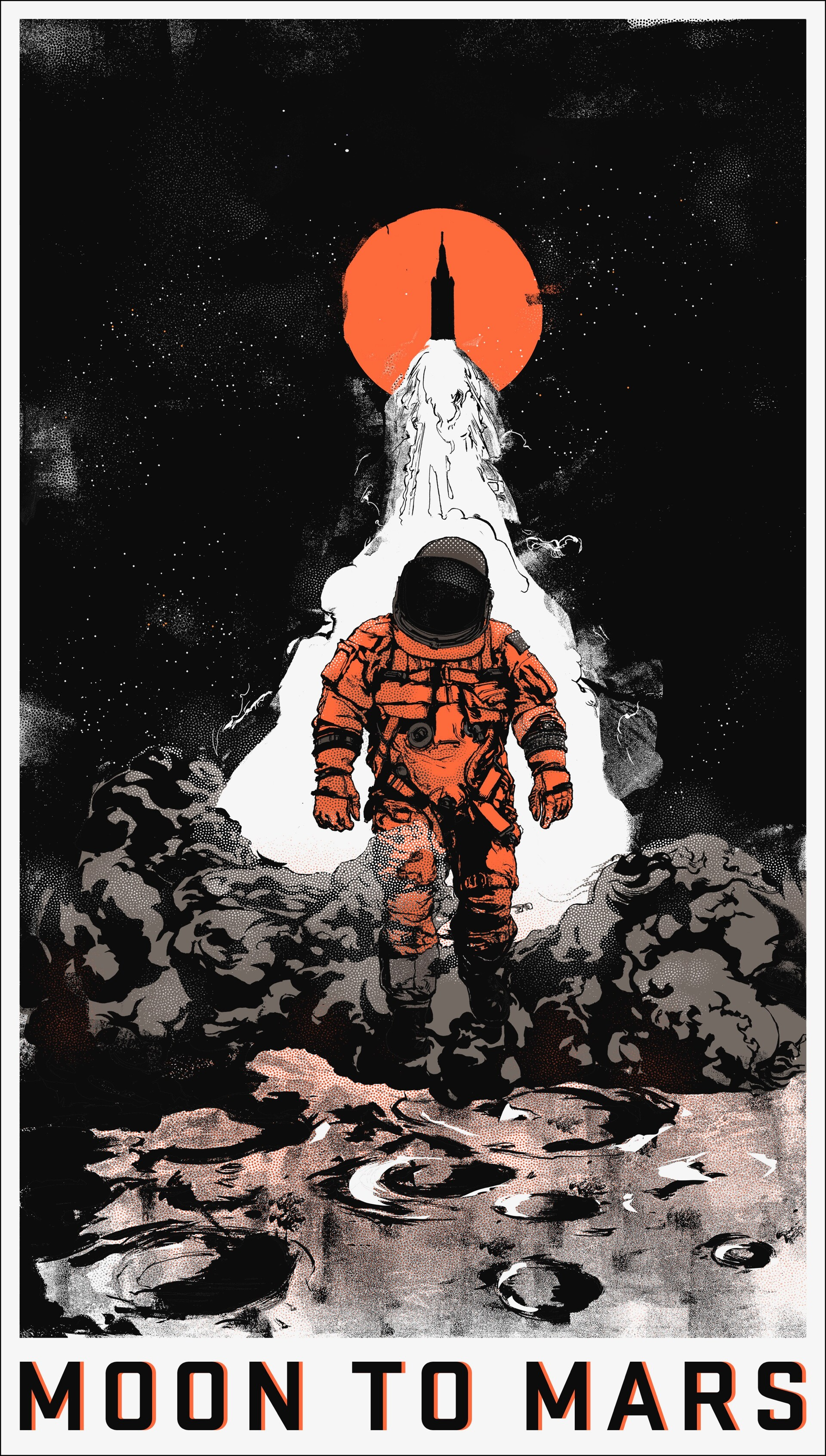 Moon to Mars: Full Poster