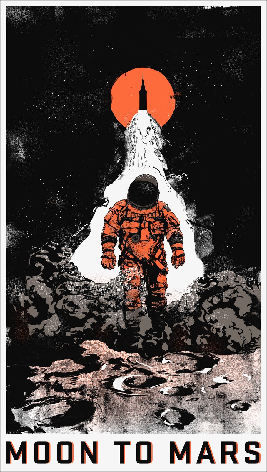 Moon to Mars: Full Poster