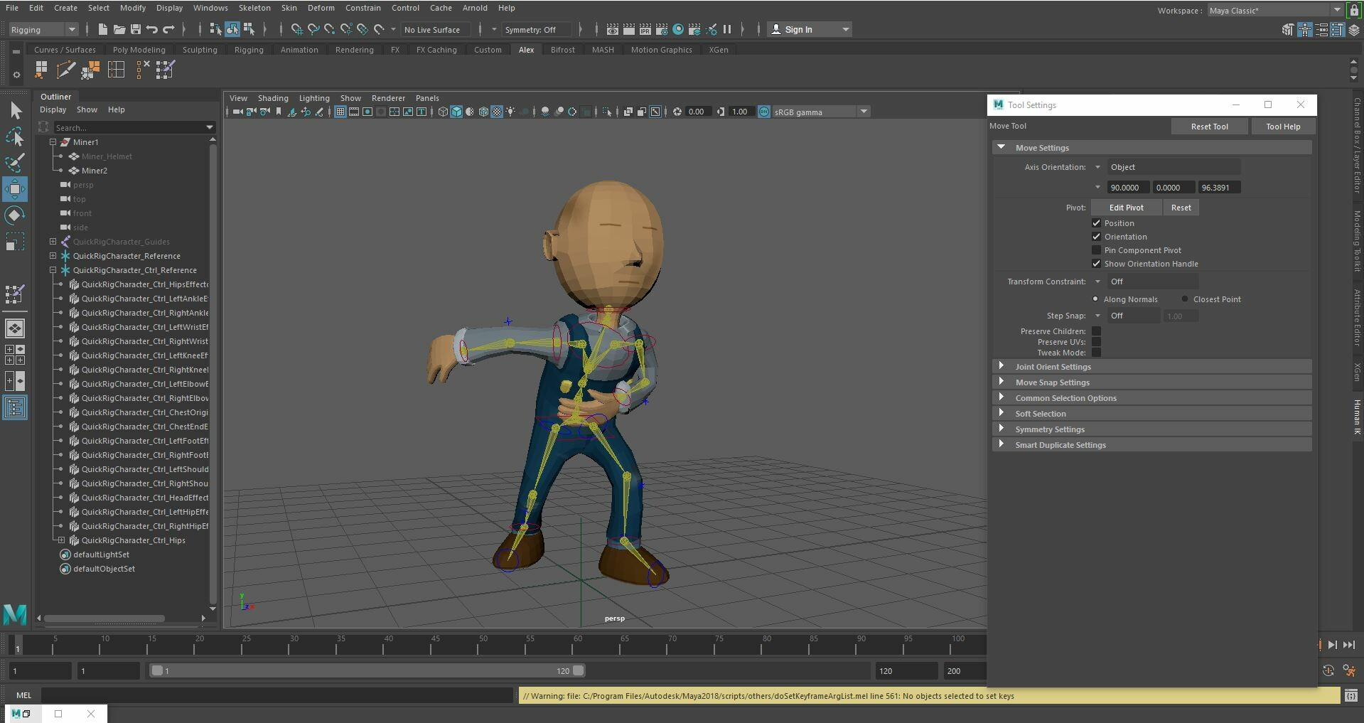 Alex Im - Quick rig test