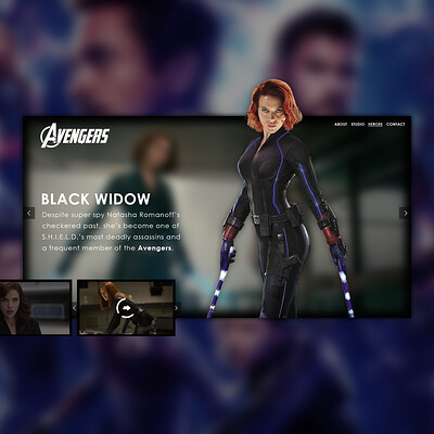 Egehan dogan avengers blackwidow