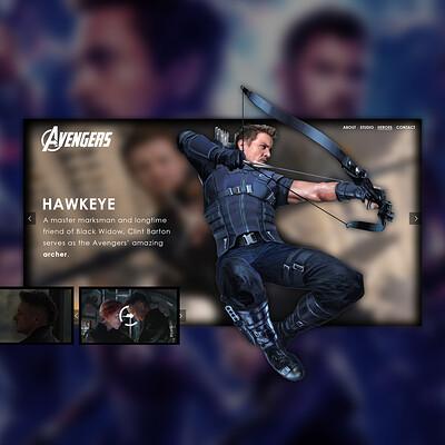 Egehan dogan avengers hawkeye