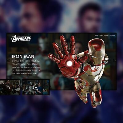 Egehan dogan avengers ironman