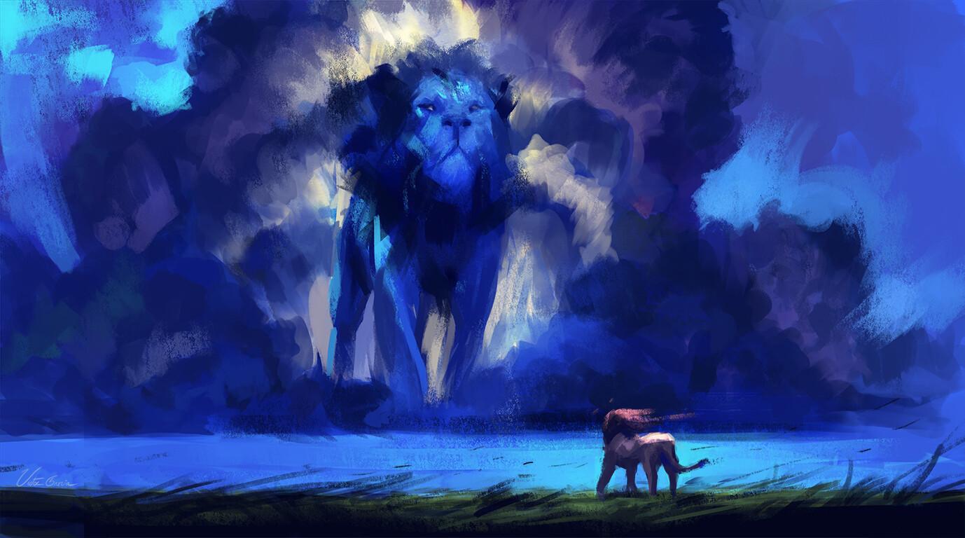 Artstation The Lion King Fan Art Victor Garcia