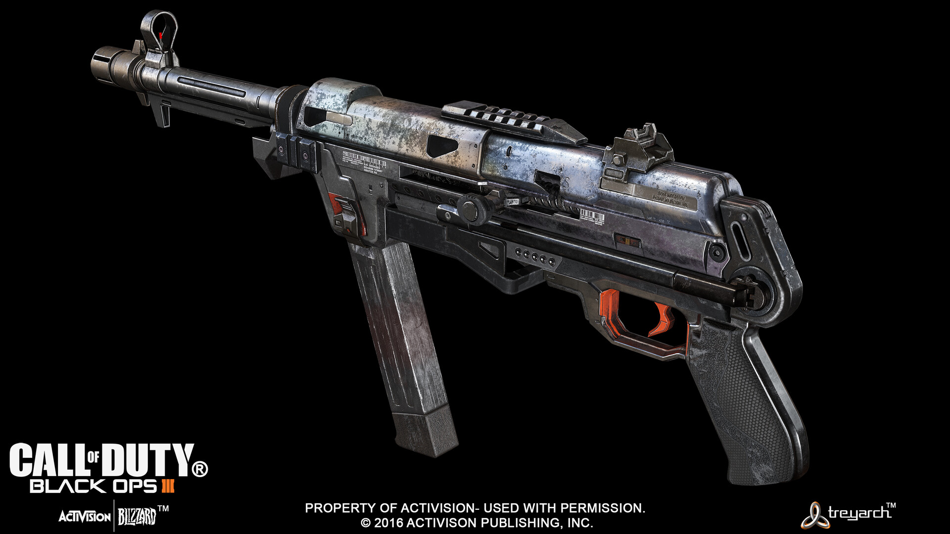 ArtStation - Call of Duty Black Ops 3 - HG40 smg, Geoffrey Ng
