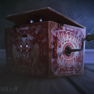 Thomas bourdon haunted toy box