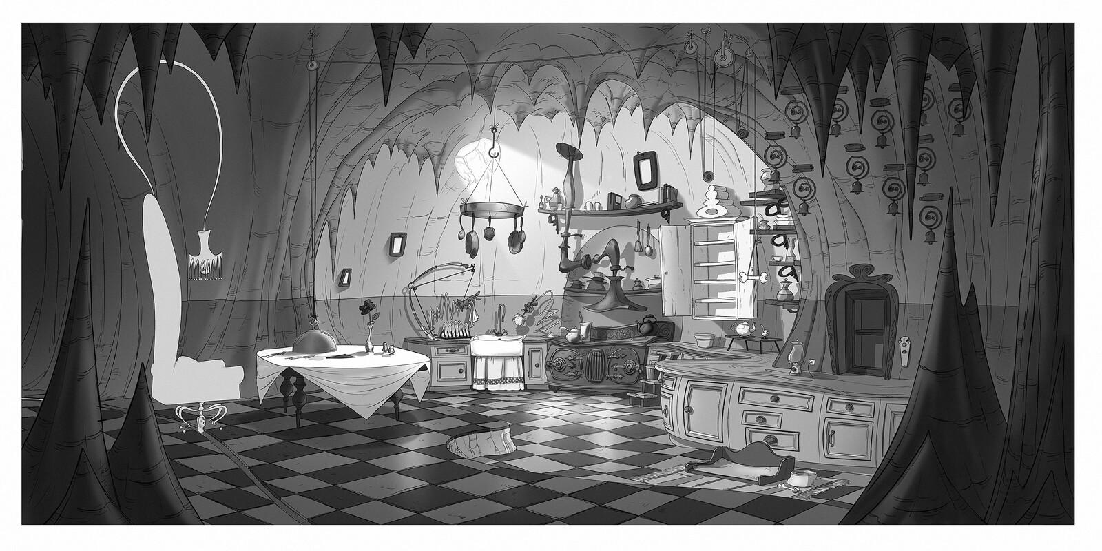 Grinch's kitchen