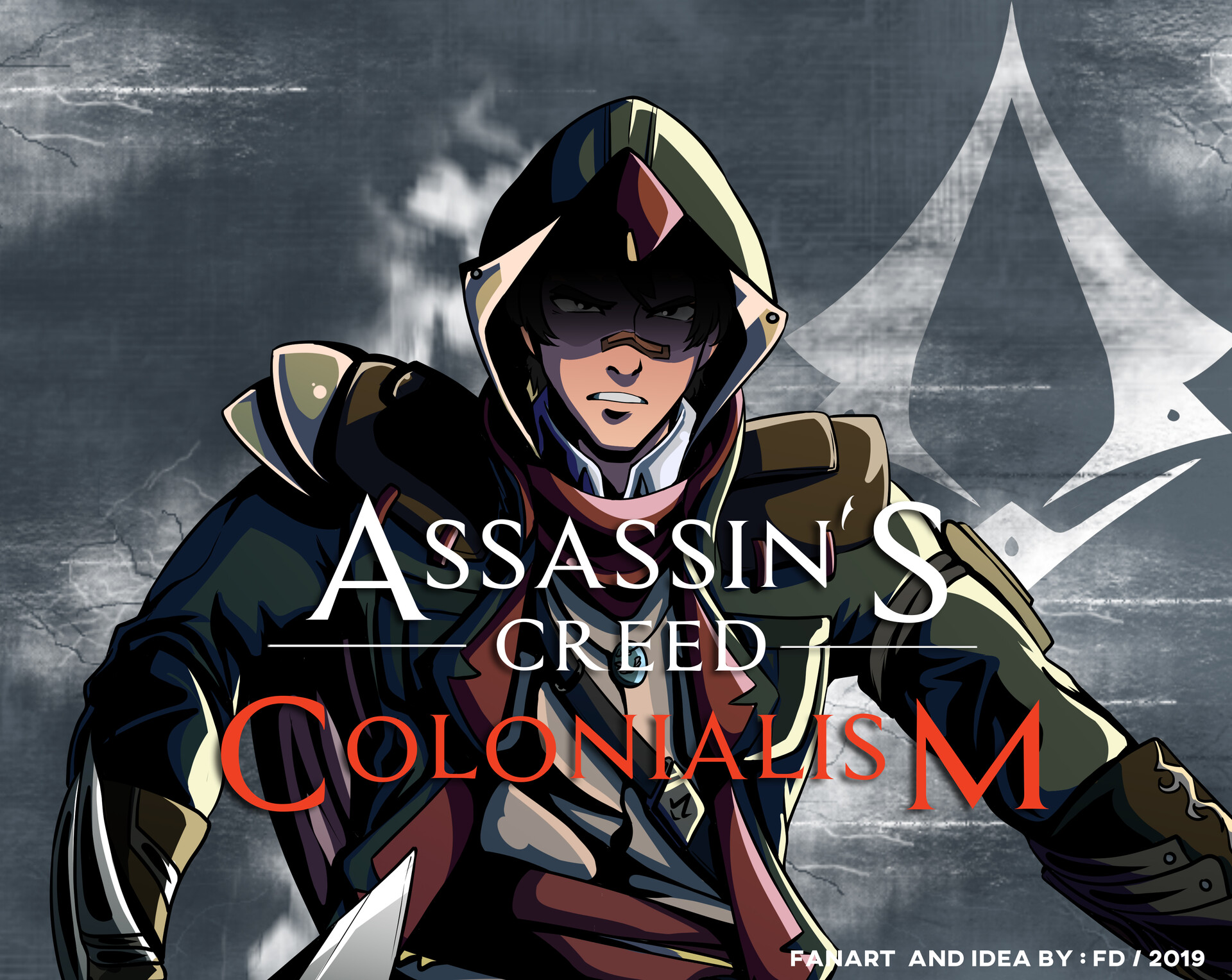 Yamada Dzahabi Kun Assassin S Creed Colonialism Fan Art