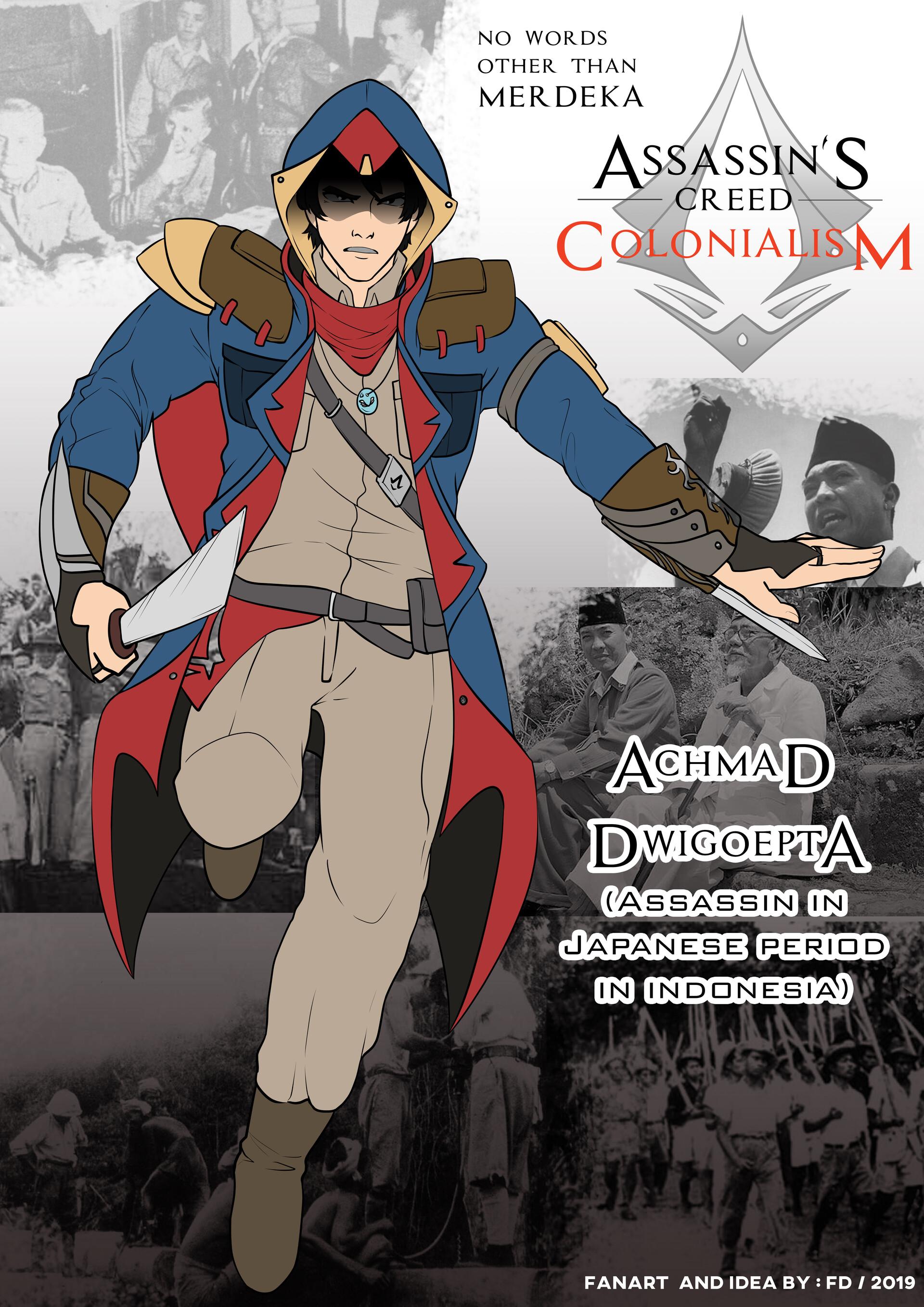 Artstation Assassin S Creed Colonialism Fan Art Yamada