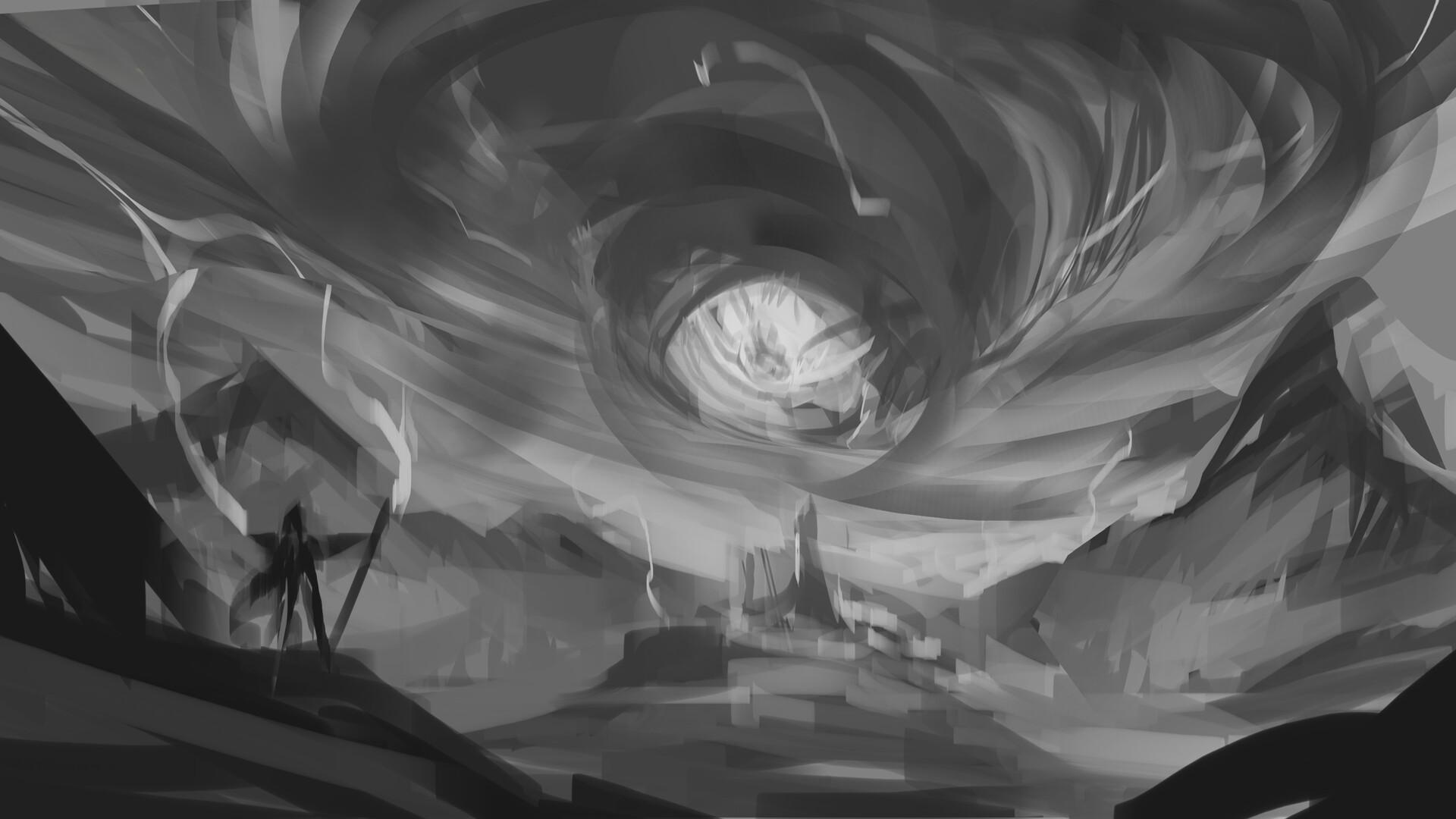 Thomas bourdon eye of the storm sketch