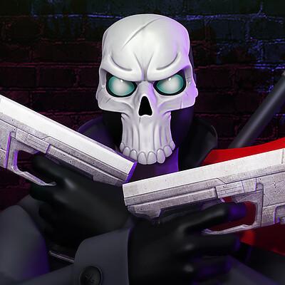 John branham skull render v3 merged