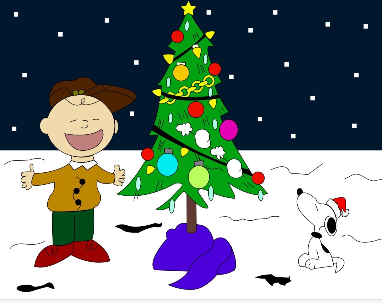 Charlie Brown Christmas Tree Drawing.Jonathan Nava Charlie Brown Drawing I Did For A Christmas