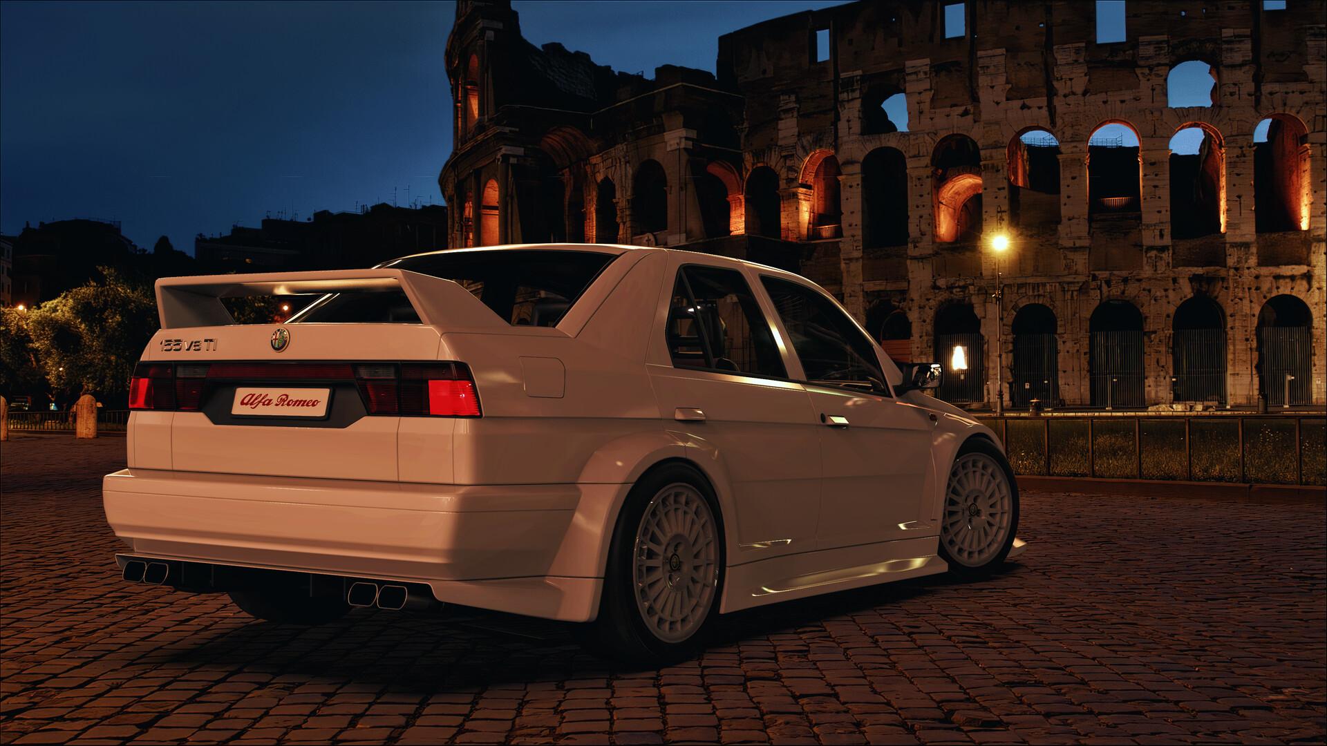 Oleg Z Alfa Romeo 155 V6 Ti Stradale 93