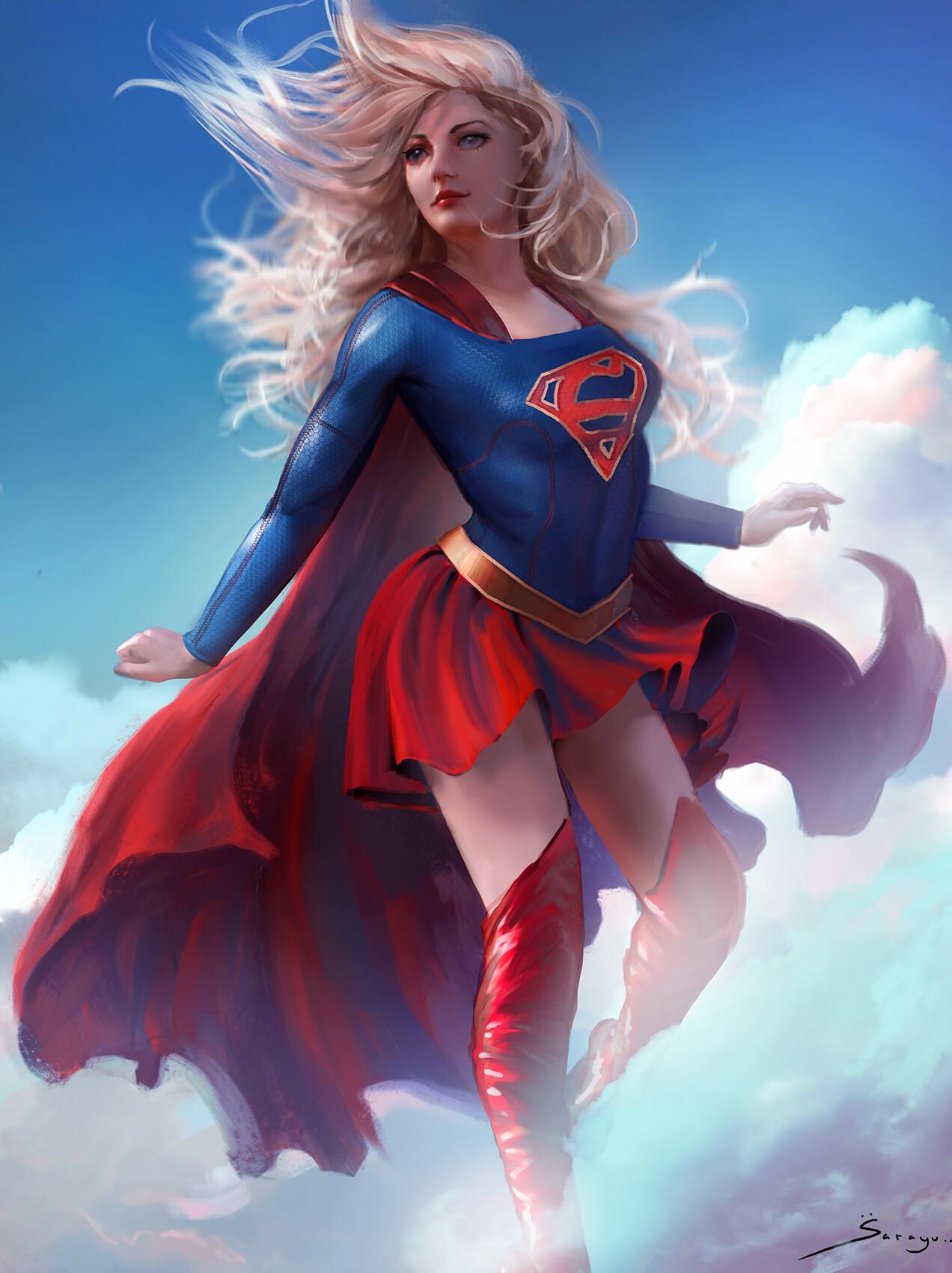 Sarayu ruangvesh supergirl commission