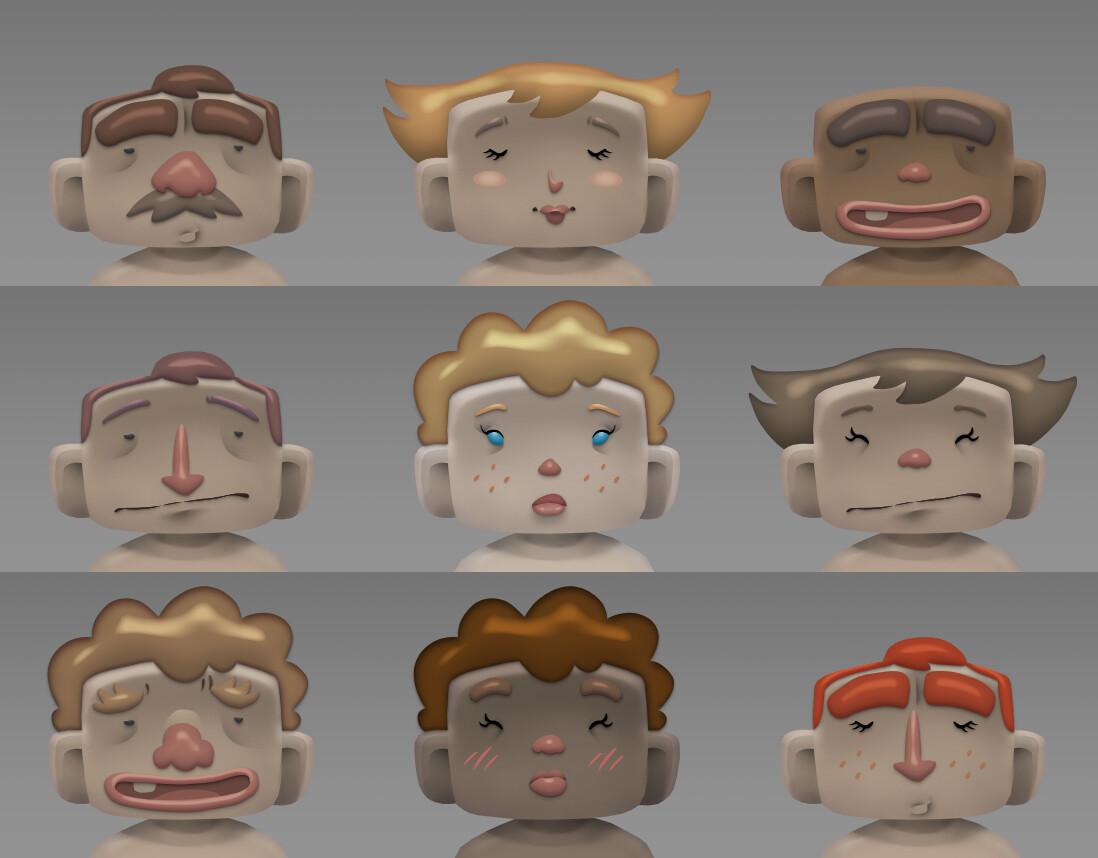 Emilio grasso style1 faces