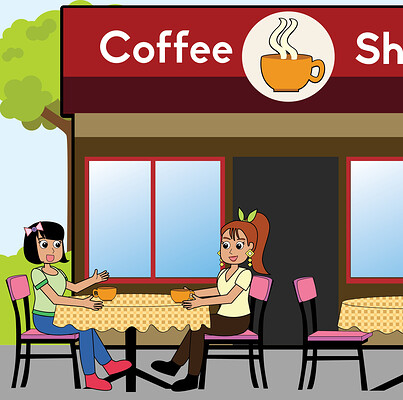 Helsic yiverus coffeshop