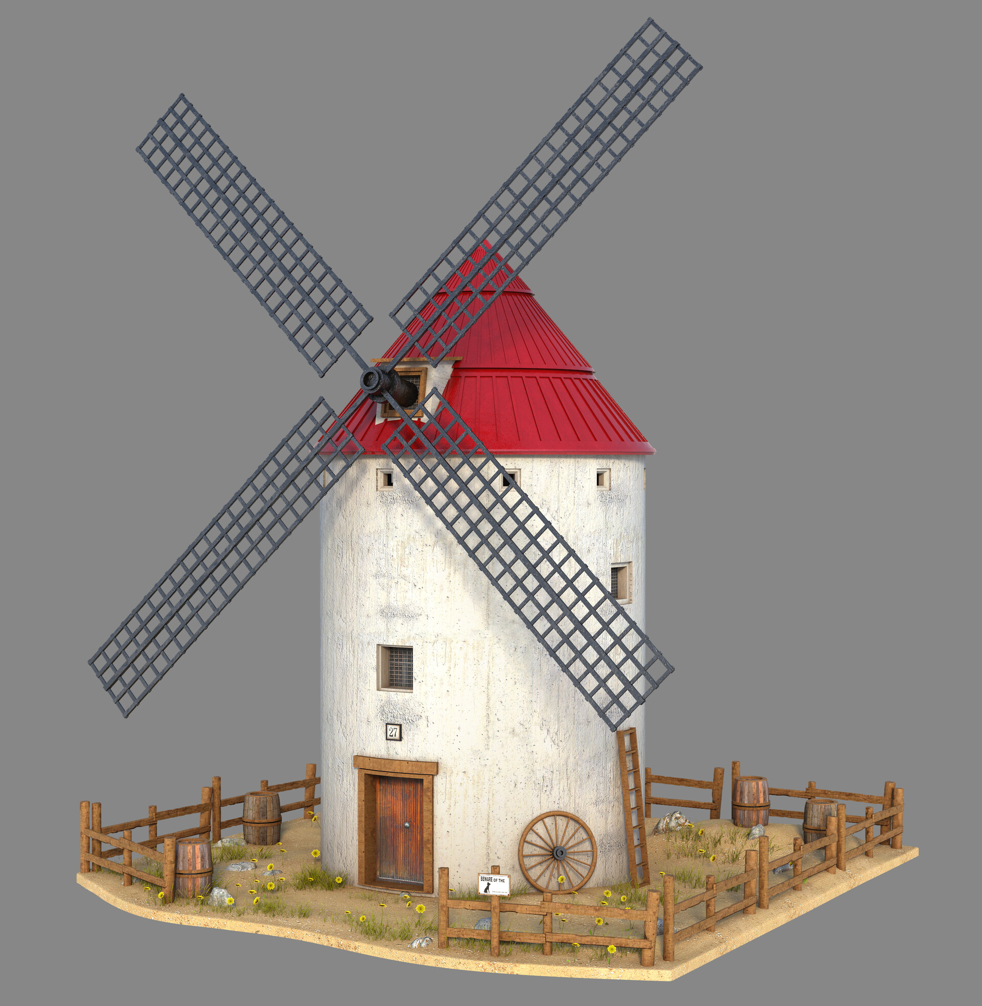 Marc mons spanish windmill by marcmons007 dckof28