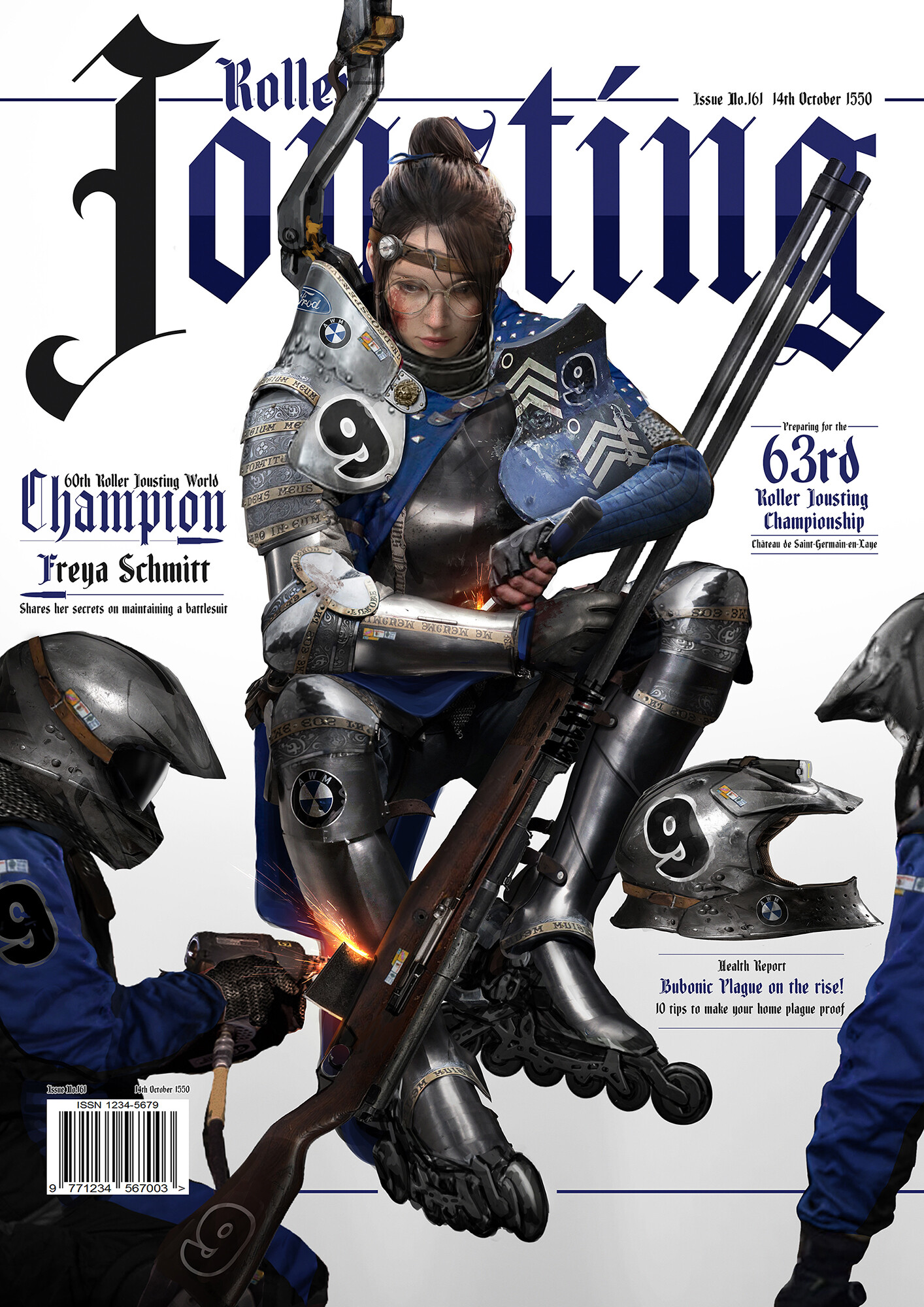 Johnson ting rollerjousting afterbattle2 magazinebg2