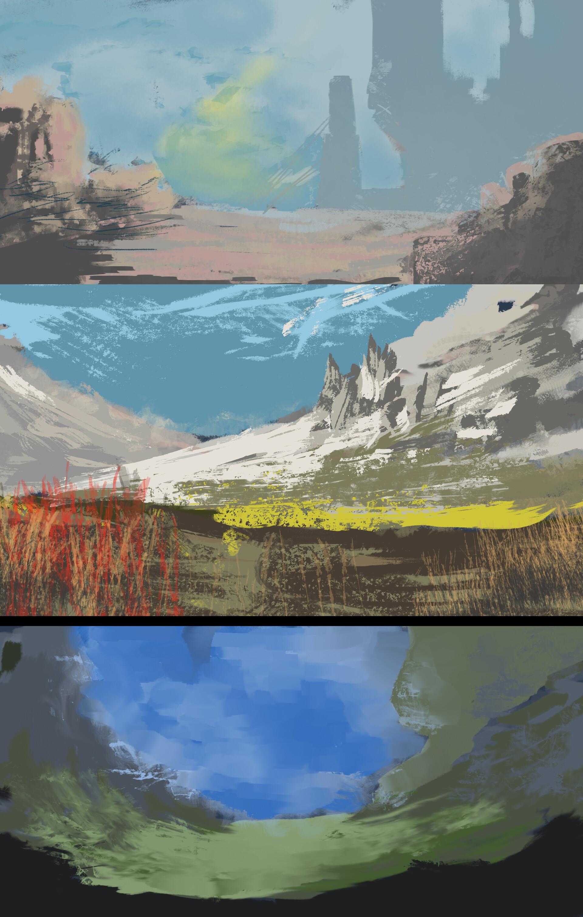 Zak katara jan 13th landscape keyframes