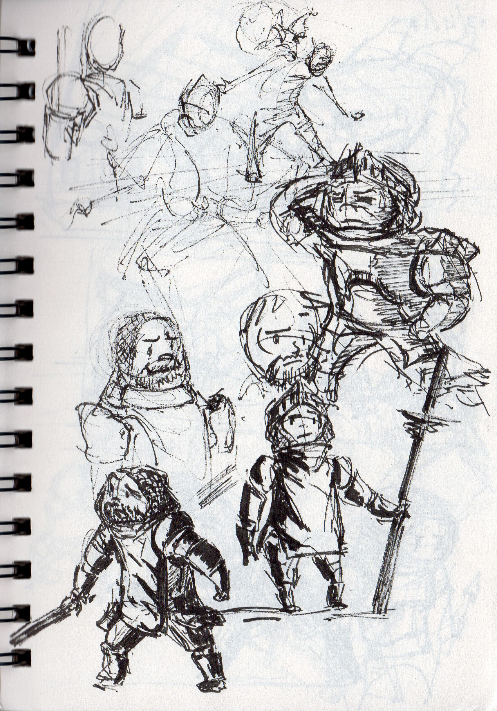 Joshua condison little knight sketchs p1