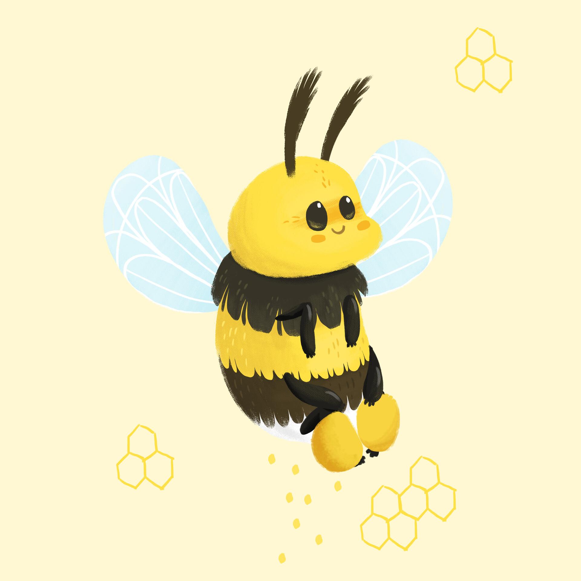 вам крутые картинки пчела анимация этом интересном