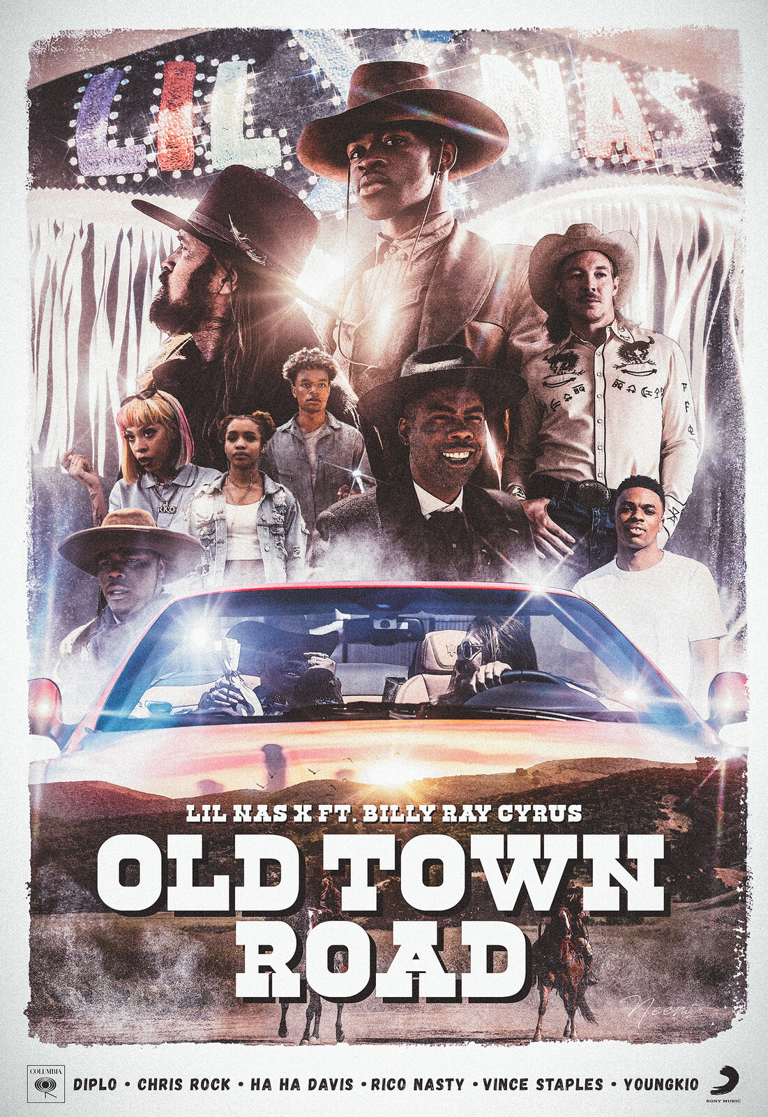 Old Town Road - Official Music Video Movie Poster