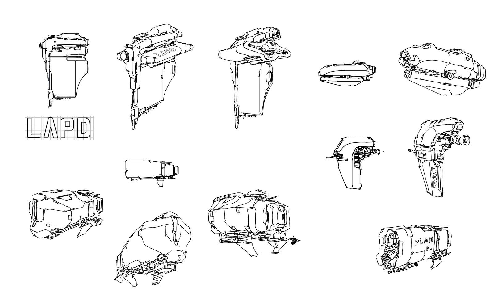 random ship doodle 2