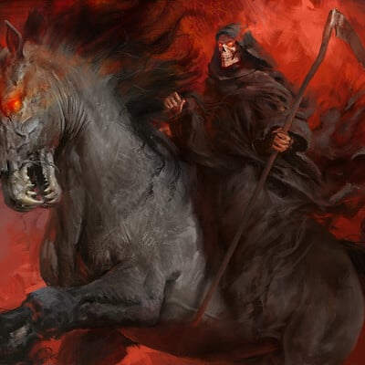 Antonio j manzanedo death on the pale horse manzanedo 2