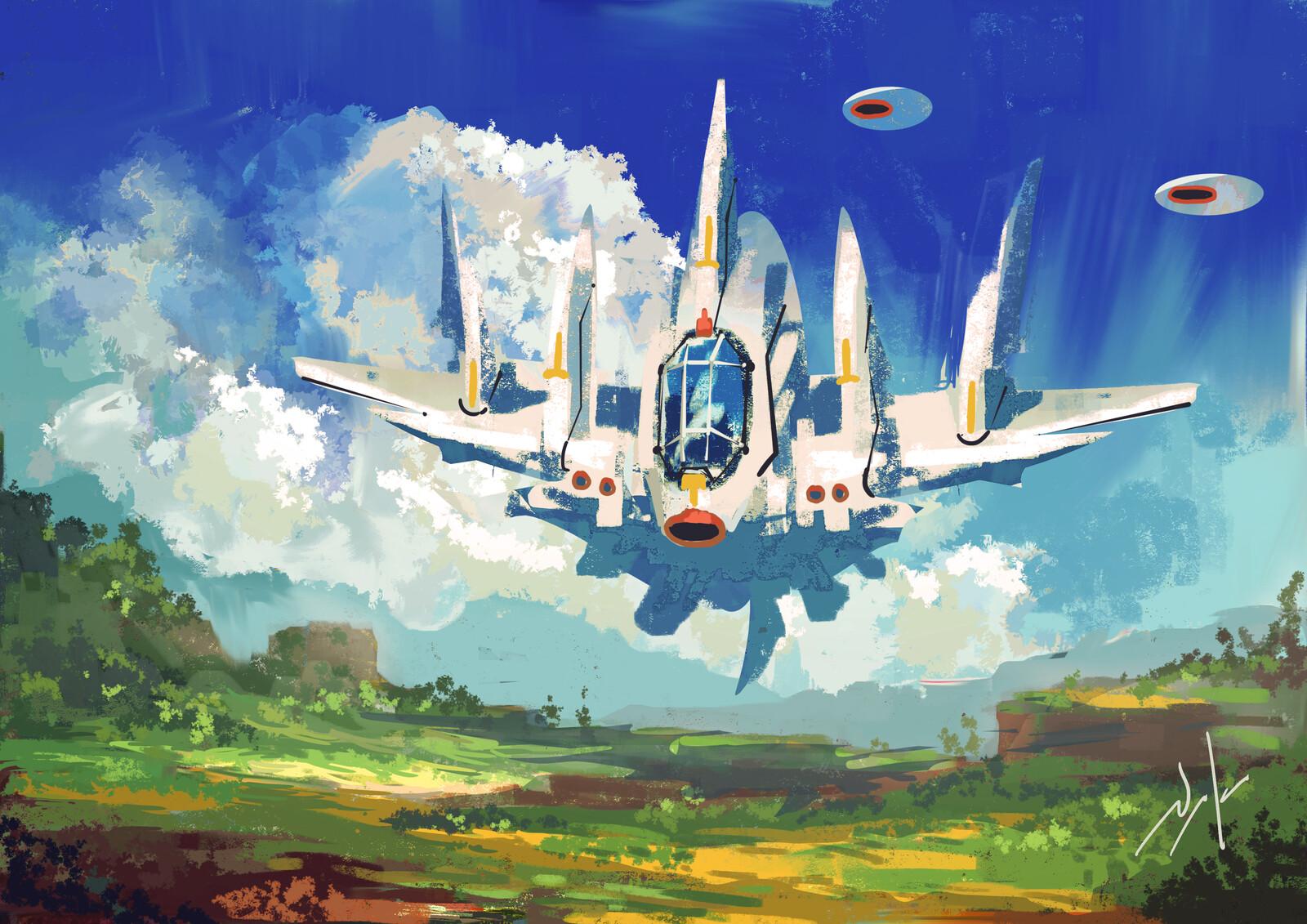 Spaceship too