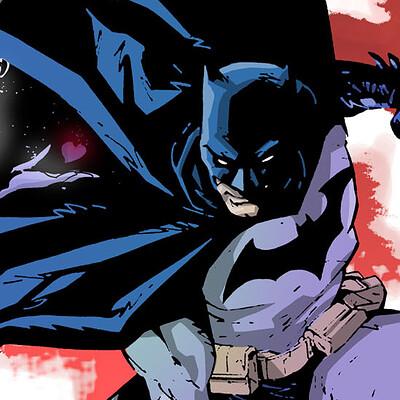 Geraldo borges batman 80 years print color lowrez