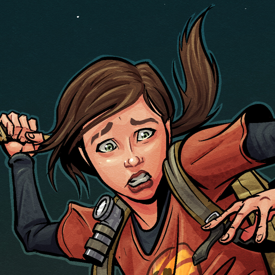 Ellie - The Last Of Us (Detail)