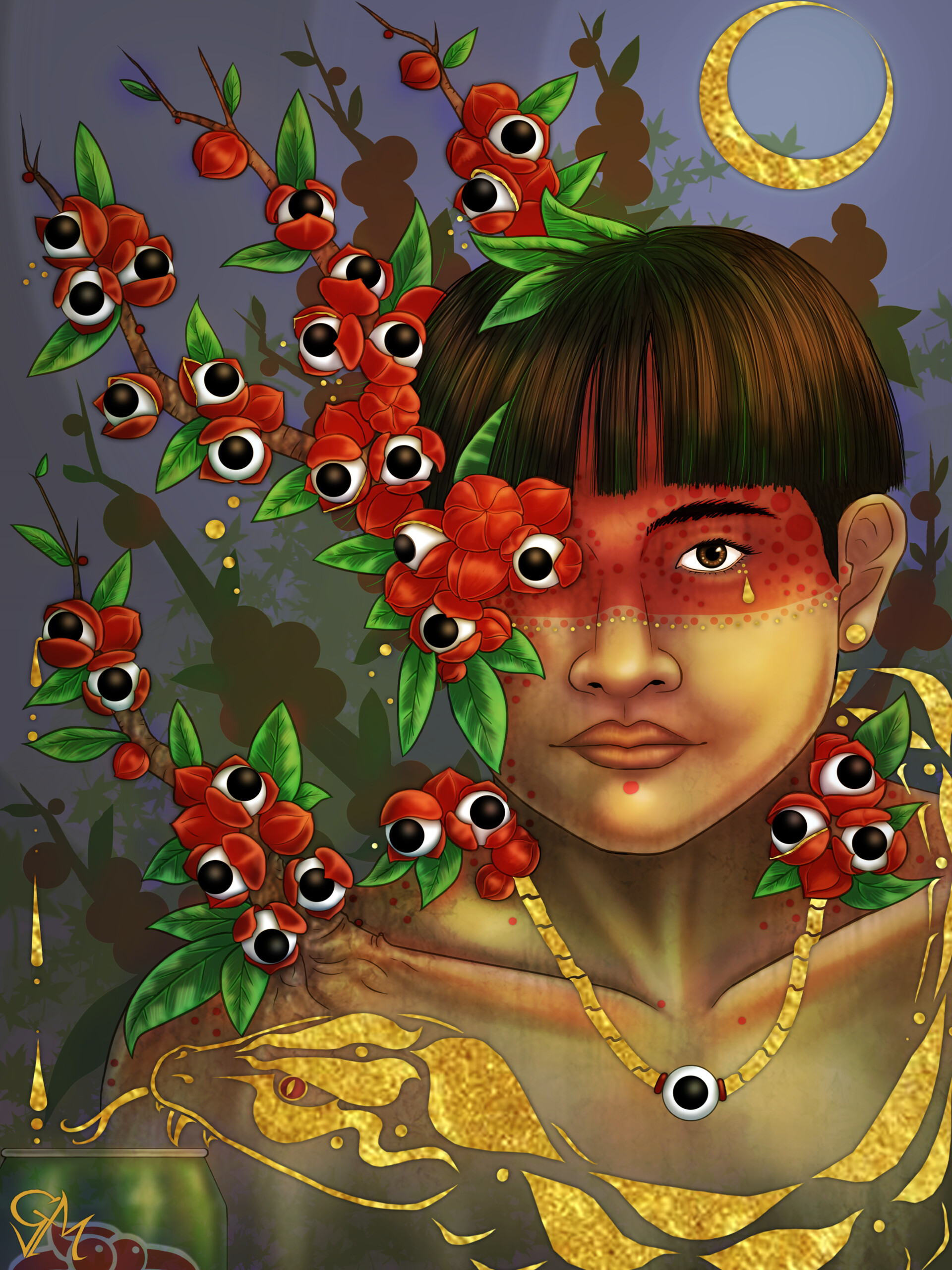 Artstation Imaginary Creatures Folklore Gustavo Matsunaga