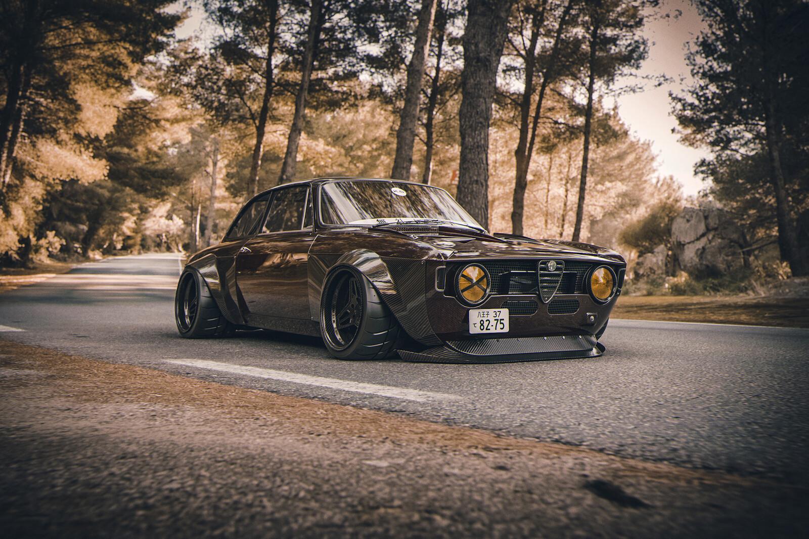 V8 Carbon Giulia 488
