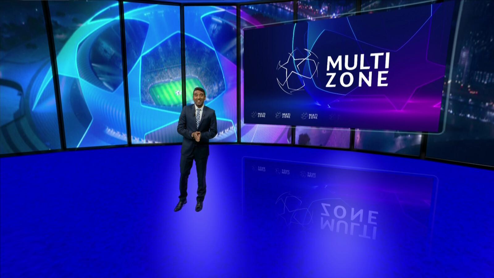 UCL VIRTUAL SET // RMC SPORT MULTIZONE