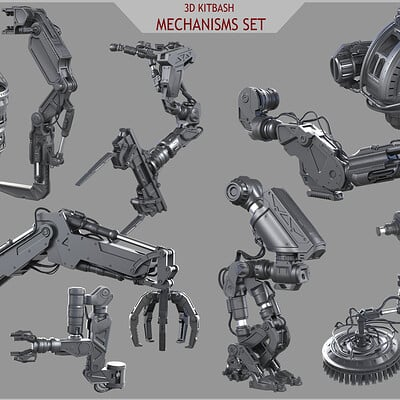Eduard pronin power tech mechanisms set all pack