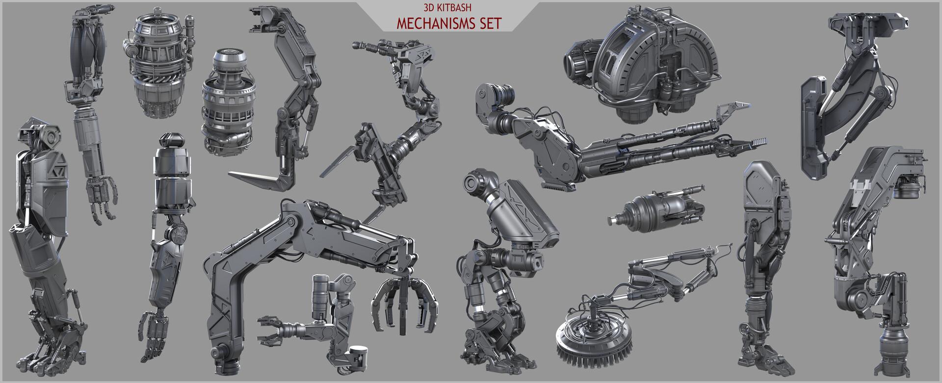 Eduard pronin power tech mechanisms set all pack