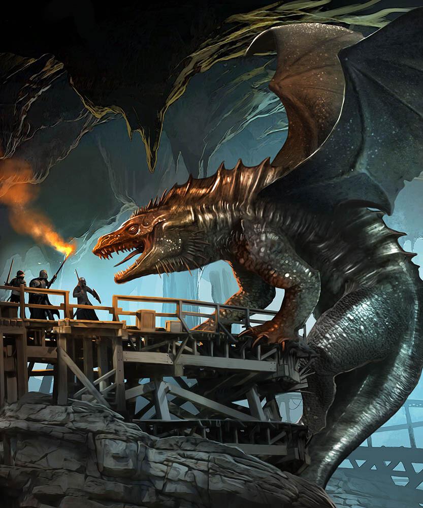 Benjamin carre mithril dragon 1