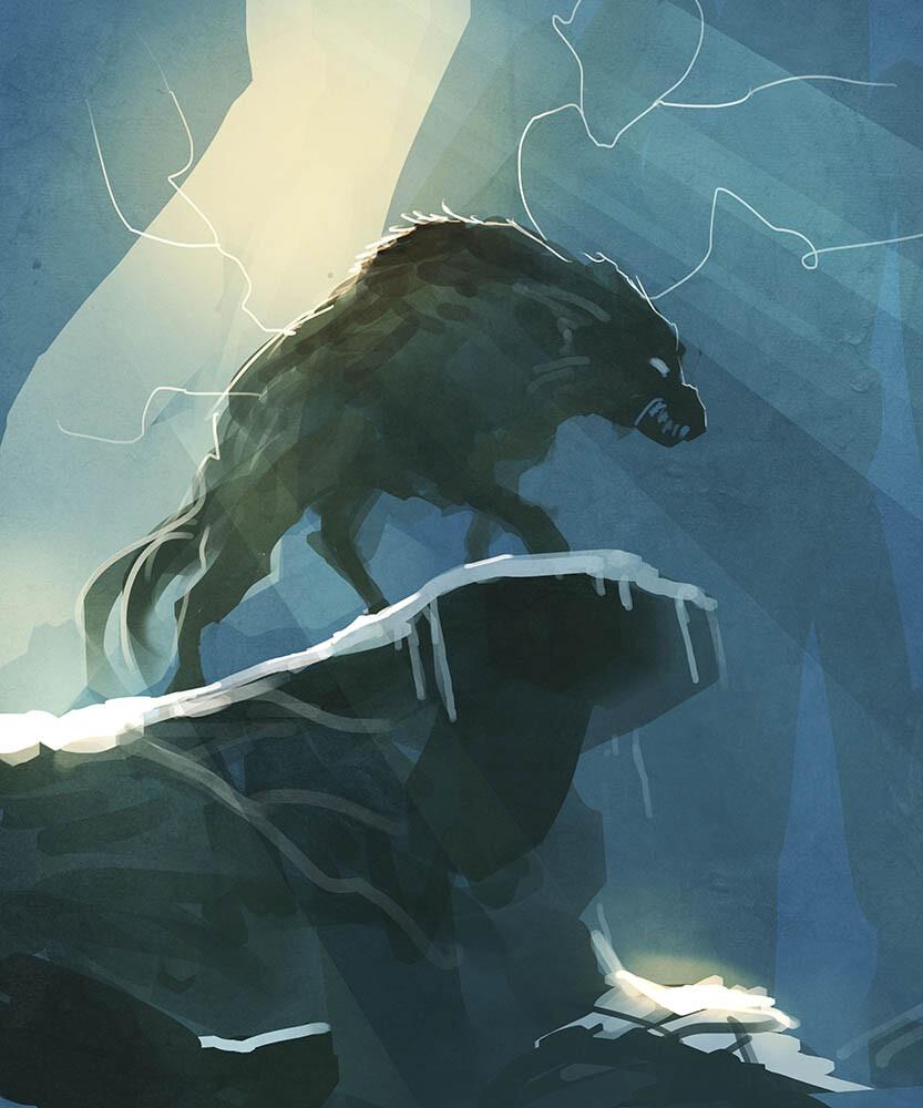 Benjamin carre wolf