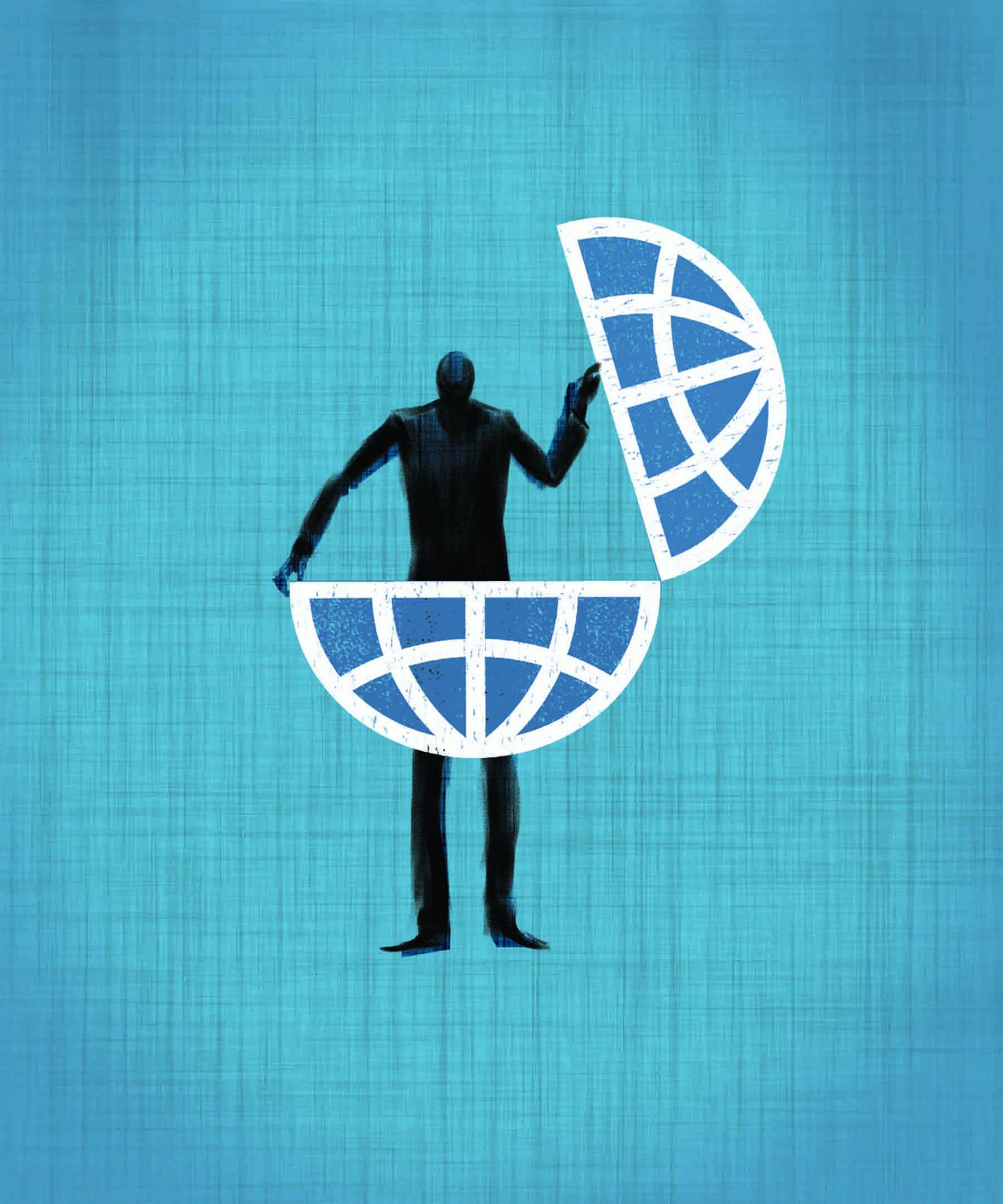 """Corporate icon """" Open Mandate """""""
