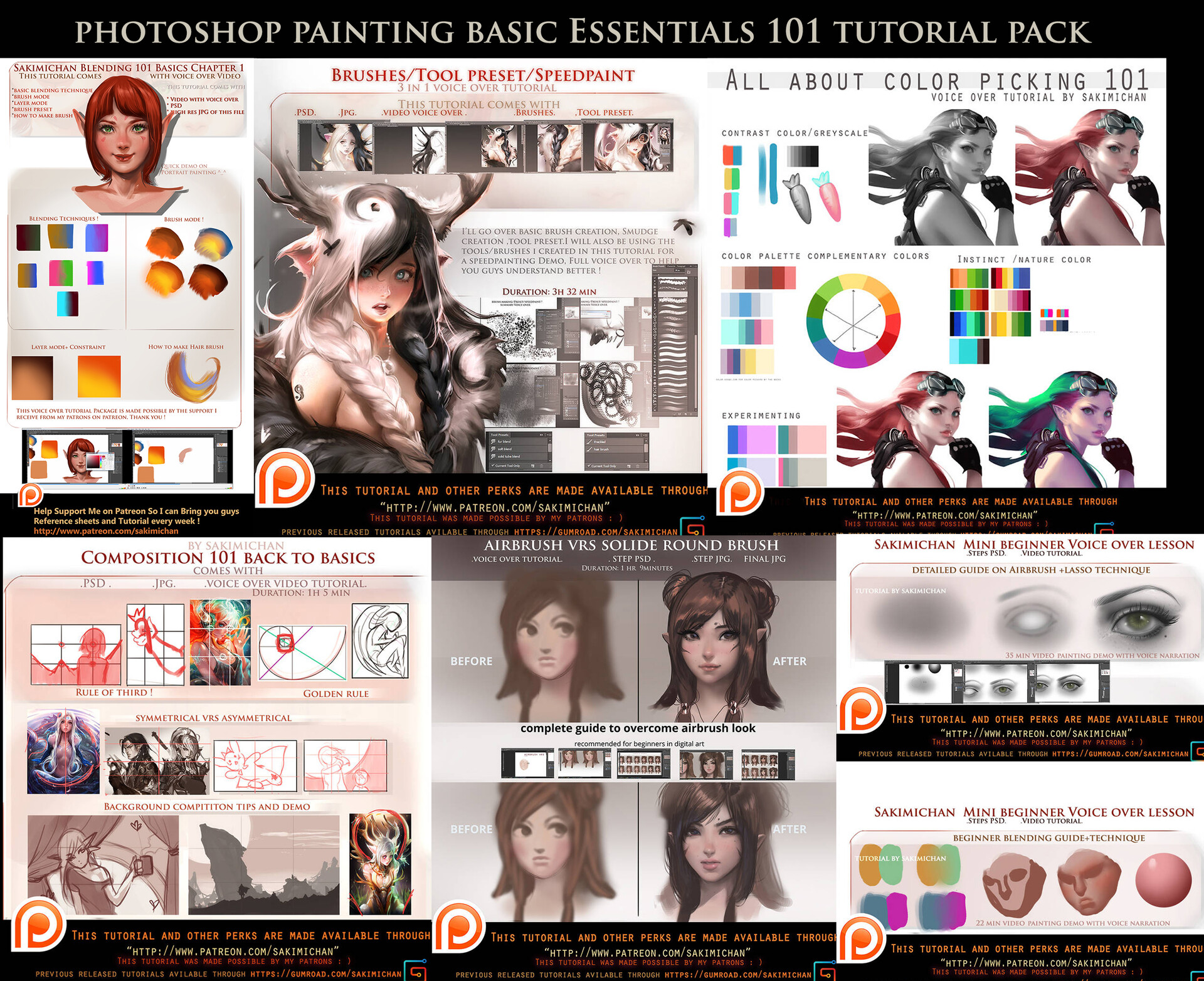 sakimi chan - painting essential voice over tutorial bundle (6)