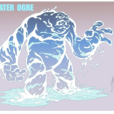 Jerome moore water ogre color
